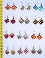 Металлические сережки