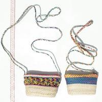 Соломенные сумочки