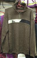 Коричневый свитер