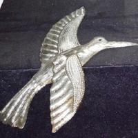 Металлическая птица