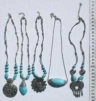 Ожерелья с бирюзой