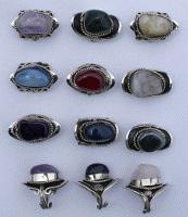 Агатовые кольца