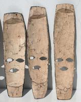 Маленькая деревянная маска