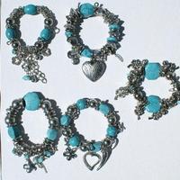 Бирюзовые браслеты