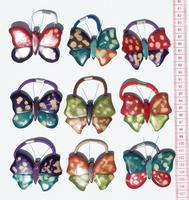 Резинки бабочки