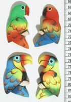 Магниты попугаи
