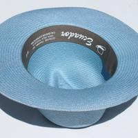 Шляпа светло-синяя