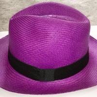 Шляпа фиолетовая