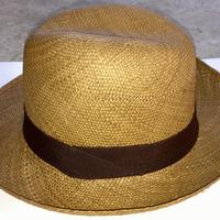Шляпа коричневая