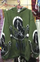 Индейский свитер с волком