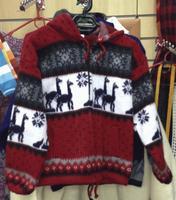 Красный свитер, размер 10