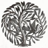 Дерево с двумя птицами