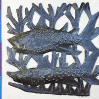 Рыбная скульптура