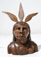 Индеец из дерева